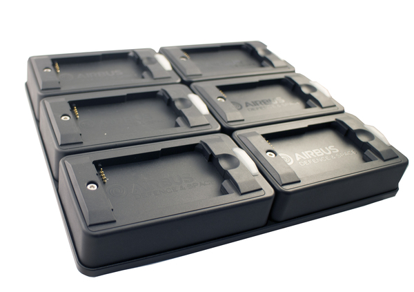DKL-2 6-slot Charger for TH1n and P8GR batteries